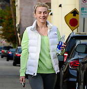18.DECEMBER.2013. LOS ANGELES<br /> <br /> CODE - CI<br /> <br /> JULIANNE HOUGH WORKING OUT IN L.A.<br /> <br /> BYLINE: EDBIMAGEARCHIVE.CO.UK<br /> <br /> *THIS IMAGE IS STRICTLY FOR UK NEWSPAPERS AND MAGAZINES ONLY*<br /> *FOR WORLD WIDE SALES AND WEB USE PLEASE CONTACT EDBIMAGEARCHIVE - 0208 954 5968*
