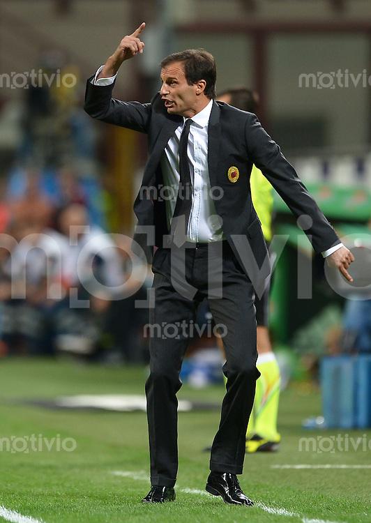 FUSSBALL INTERNATIONAL   SERIE A   SAISON 2012/2013    AC Mailand - Atalanta  15.09.2012 Trainer Massimilliano Allegri (AC Mailand)