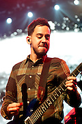 Linkin Park on the Honda Civic Tour at the Riverbend Music Center in Cincinnati, OH on August 22, 2012