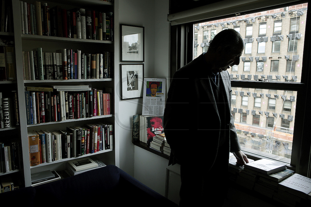 PHOTO PETER PEREIRA/4SEE<br /> <br /> Philip Milton Roth an American novelist that has been writting award winning fiction since 1959 seen at his agents office in New York City.