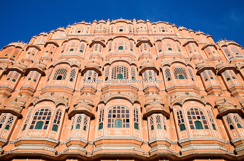 Hawa Mahal (Palace of Winds). Jaipur. Rajasthan, India