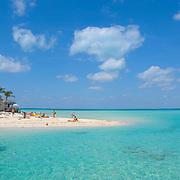 People at North beach, Isla Mujeres, Quintana Roo. MX.
