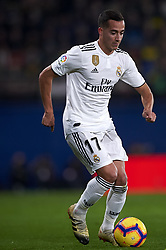 January 3, 2019 - Villarreal, Castellon, Spain - Lucas Vazquez of Real Madrid during the week 17 of La Liga match between Villarreal CF and Real Madrid at Ceramica Stadium in Villarreal, Spain on January 3 2019. (Credit Image: © Jose Breton/NurPhoto via ZUMA Press)