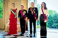 Queen Rania & King Abdullah State Visit Belgium