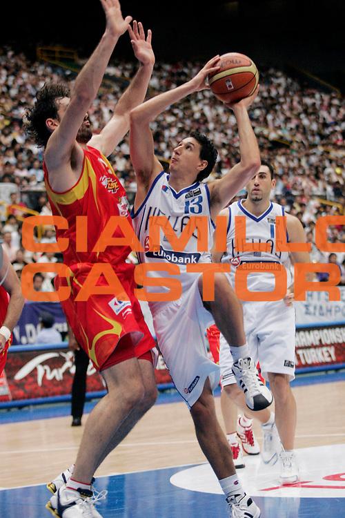 DESCRIZIONE : Saitama Giappone Japan Men World Championship 2006 Campionati Mondiali Final Greece-Spain <br /> GIOCATORE : Diamantidis <br /> SQUADRA : Greece Grecia <br /> EVENTO : Saitama Giappone Japan Men World Championship 2006 Campionato Mondiale Final Greece-Spain <br /> GARA : Greece Spain Grecia Spagna <br /> DATA : 03/09/2006 <br /> CATEGORIA : Tiro <br /> SPORT : Pallacanestro <br /> AUTORE : Agenzia Ciamillo-Castoria/A.Vlachos <br /> Galleria : Japan World Championship 2006<br /> Fotonotizia : Saitama Giappone Japan Men World Championship 2006 Campionati Mondiali Final Greece-Spain <br /> Predefinita :