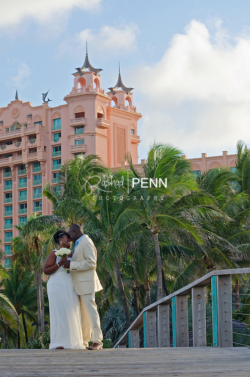 Mr. and Mrs Hunter Wedding at Atlantis resort and casion Paradise Island the Bahamas.