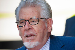 London, June 19th 2014. Entertainer and artist Rolf Harris arrives at Southwark Crown Court as the jury in his tial on twelve charges of indecent assault against four girls aged 7 to 19 is expected to begin its deliberations.