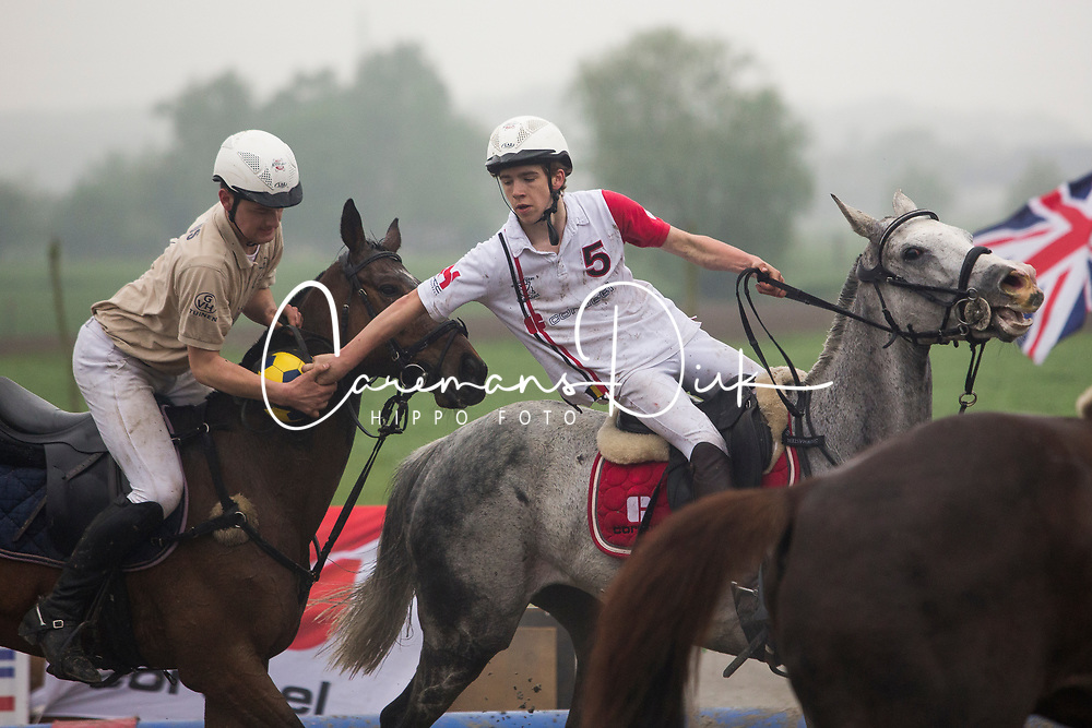 Van Herreweghe Axel, BEL, Princess Querda<br /> BK Horseball 2018<br /> © Sharon Vandeput<br /> 16:07:44