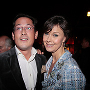 NLD/Amsterdam/20111110 - Premiere Palazzo 2011 Amsterdam, Coco de Meyere en partner Kim Tjoa