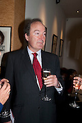 CHARLES MOORE, Literary charity First Story fundraising dinner. Cafe Anglais. London. 10 May 2010. *** Local Caption *** -DO NOT ARCHIVE-© Copyright Photograph by Dafydd Jones. 248 Clapham Rd. London SW9 0PZ. Tel 0207 820 0771. www.dafjones.com.<br /> CHARLES MOORE, Literary charity First Story fundraising dinner. Cafe Anglais. London. 10 May 2010.