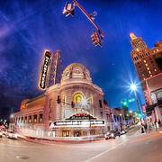 AMC Mainstreet Theater at 14th and Main, downtown Kansas City, Missouri.
