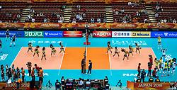 10-10-2018 JPN: World Championship Volleyball Women day 11, Nagoya<br /> Netherlands - Brazil 2-3 / Nippon Gaishi Hall and entertainment