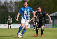 FODBOLD: Danny Andersen (Hornbæk IF) følges af Paw Olsen (Ballerup BK) under finalen i Seriepokalen mellem Hornbæk IF og Ballerup Boldklub den 20. maj 2019 på Brøndby Stadion. Foto: Claus Birch.