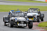 #5 Chris Aubrey Caterham Roadsport during the Avon Tyres Caterham Roadsport Championship at Oulton Park, Little Budworth, Cheshire, United Kingdom. August 13 2016. World Copyright Peter Taylor/PSP.