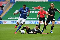 Football - 2019 / 2020 Championship - Cardiff City vs Charlton Athletic<br /> <br /> Nathaniel Mendez-Laing of Cardiff City attacks, at the Cardiff City Stadium.<br /> <br /> COLORSPORT/WINSTON BYNORTH