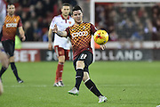 Bradford City midfielder Billy Knott during the Sky Bet League 1 match between Sheffield Utd and Bradford City at Bramall Lane, Sheffield, England on 28 December 2015. Photo by Ian Lyall.