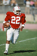 COLLEGE FOOTBALL: Stanford v Washington, October 18, 1980 at Stanford Stadium in Palo Alto, California.  Vincent White #22.
