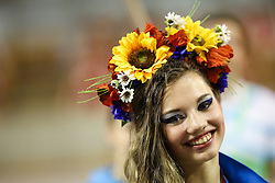 Girl from Ukraine at ECU European Cheerleading Championships 2015 on June 27th 2015, in Hala Tivoli, Ljubljana. Photo by Matic Klansek Velej / Sportida