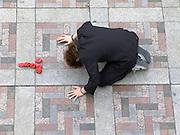 performance on the street Yoyogi park Harajuku Tokyo Japan