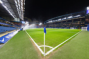 A general view inside Stamford Bridge Stadium prior to the Premier League match between Chelsea and Southampton at Stamford Bridge, London, England on 2 January 2019.