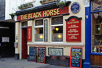 The Black Horse pub on Church street Whitby
