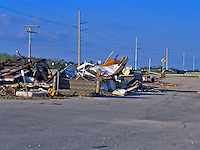Clean up at Hurricance George in the Keys