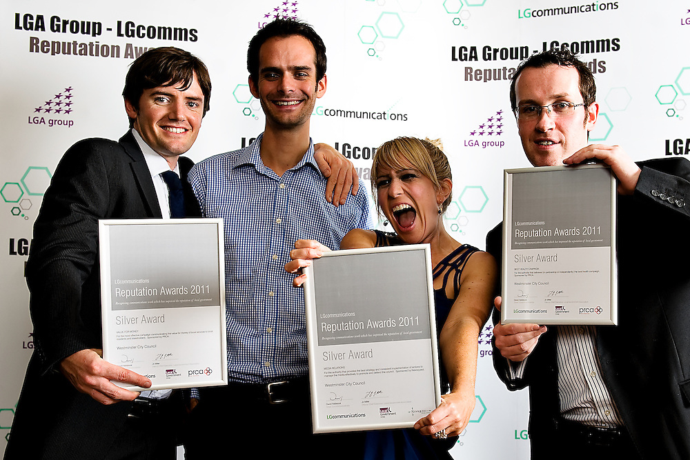 The Reputation Awards LGcomms Academy 2011