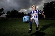 Nederland, Tolbert 20130916,  Jonge sc Heerenveen voetballer Jens Niels Schraven (10 jr.). foto: Pepijn van den Broeke