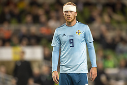 November 15, 2018 - Dublin, Ireland - Liam Boyce of N.Ireland during the International Friendly match between Republic of Ireland and Northern Ireland at Aviva Stadium in Dublin, Ireland on November 15, 2018  (Credit Image: © Andrew Surma/NurPhoto via ZUMA Press)