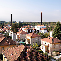 """Crespi d'Adda, Italy, UNESCO World Heritage: an """"extraordinary example of the phenomenon of the worker's villages, the most complete and best preserved of south Europe"""""""