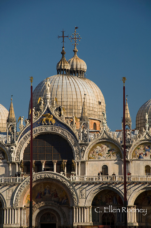 The Basilica San Marco in Piazza San Marco Venice, Italy