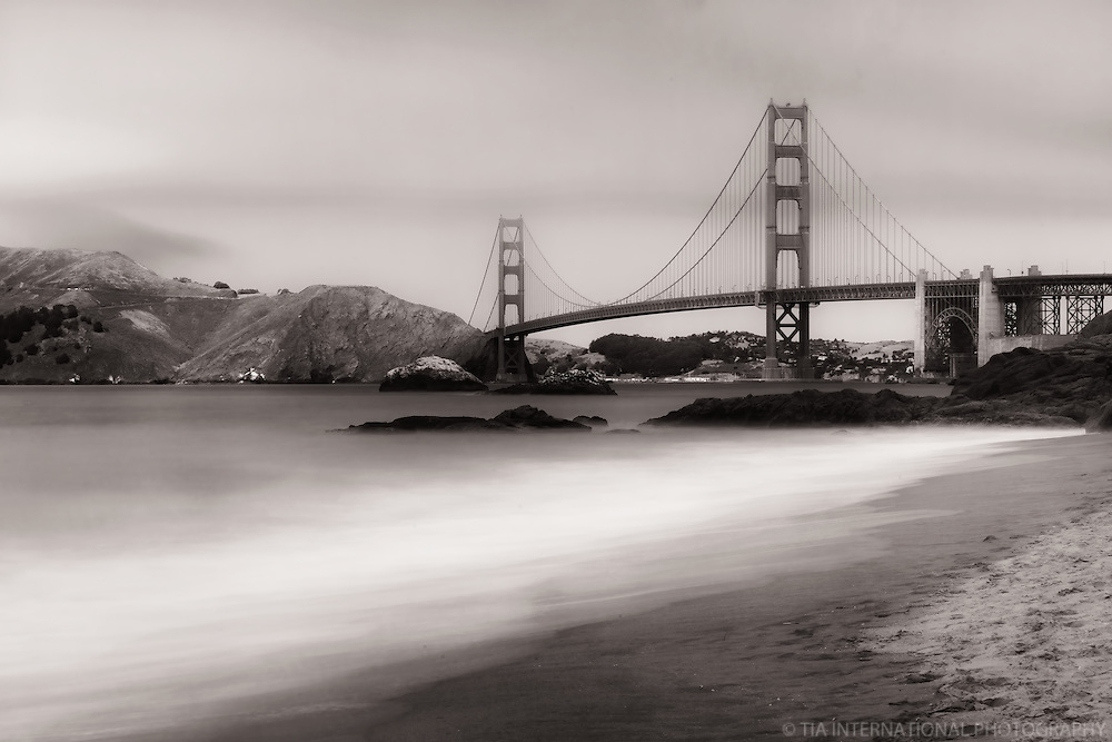 Golden Gate Bridge, Baker Beach