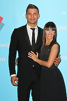 Aljaz Skorjanec; Janette Manrara , Arqiva Commercial Radio Awards, Westminster Bridge Park Plaza Hotel, London UK, 03 July 2014, Photo by Richard Goldschmidt