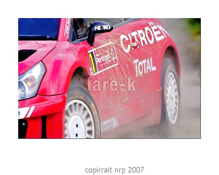 WRC PORTUGAL 2007 SEBASTIAN LOEB<br /> CITRO&Euml;N C4<br /> CITRO&Euml;N TOTAL WRT