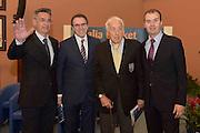 DESCRIZIONE : Roma Basket Day Hall of Fame 2014<br /> GIOCATORE : Boscia Tanjevic Carlo Recalcati Alessandro Gamba Simone Pianigiani<br /> SQUADRA : FIP Federazione Italiana Pallacanestro <br /> EVENTO : Basket Day Hall of Fame 2014<br /> GARA : Roma Basket Day Hall of Fame 2014<br /> DATA : 22/03/2015<br /> CATEGORIA : Premiazione<br /> SPORT : Pallacanestro <br /> AUTORE : Agenzia Ciamillo-Castoria/GiulioCiamillo