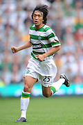 SHUNSUKE NAKAMURA.GLASGOW CELTIC FC.CELTIC V RANGERS.CELTIC PARK, GLASGOW, SCOTLAND.31 August 2008.DIV85009..  .WARNING! This Photograph May Only Be Used For Newspaper And/Or Magazine Editorial Purposes..May Not Be Used For, Internet/Online Usage Nor For Publications Involving 1 player, 1 Club Or 1 Competition,.Without Written Authorisation From Football DataCo Ltd..For Any Queries, Please Contact Football DataCo Ltd on +44 (0) 207 864 9121