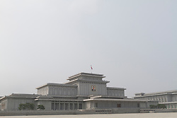 FILE PICTURE © Licensed to London News Pictures. 11/08/2011. Pyongyang, North Korea. Kumsusan Memorial Palace in Pyongyang where Kim Jong-Ils body is currently in state, in preperation for his funeral. The memorial palace has held Jong-Il's father (Kim Il-Sung) in state since his death in 1994. . Photo credit : James Gourley/LNP