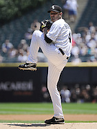 CHICAGO, IL - JUNE 26:  Phil Humber #41 of the Chicago White Sox pitches against the Washington Nationals on June 26, 2011 at U.S. Cellular Field in Chicago, Illinois.  The Nationals defeated the White Sox 2-1.  (Photo by Ron Vesely/MLB Photos via Getty Images)  *** Local Caption *** Phil Humber.