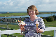 14/08/2015 Brid Fahy  Linnalla Ice cream Parlour and Desert House, New Quay, The Burren, Co.Clare. Photo:Andrew Downes
