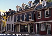 Lancaster, PA street scape Historic houses, Lancaster, PA