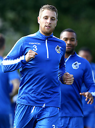 Lee Brown of Bristol Rovers warms up for training - Mandatory by-line: Robbie Stephenson/JMP - 15/09/2016 - FOOTBALL - The Lawns Training Ground - Bristol, England - Bristol Rovers Training