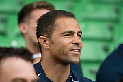 Jason Robinson - Training starts for inaugural RUGBY AID 2015 charity match which takes place on Friday 4th September 2015 at the Twickenham Stoop. The celebrity charity game will be in aid of RUGBY FOR HEROES  of which Mike Tindall MBE is Patron. The charity raises funds and awareness through the sport of rugby, the fan community and the wider professional player network, to support military personnel who are making the transition back from military service to civilian life. The teams (England v's Rest of the World) include former international rugby players, celebrities and serving members of the armed forces. Harlequins Rugby , The Stoop, Twickenham, London UK, 02 Sept 2015