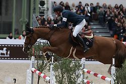 Delestre Simon, (FRA), Chesall Zimequest<br /> Grand Prix Hermes <br /> Saut Hermes Paris 2016<br /> © Hippo Foto - Counet Julien
