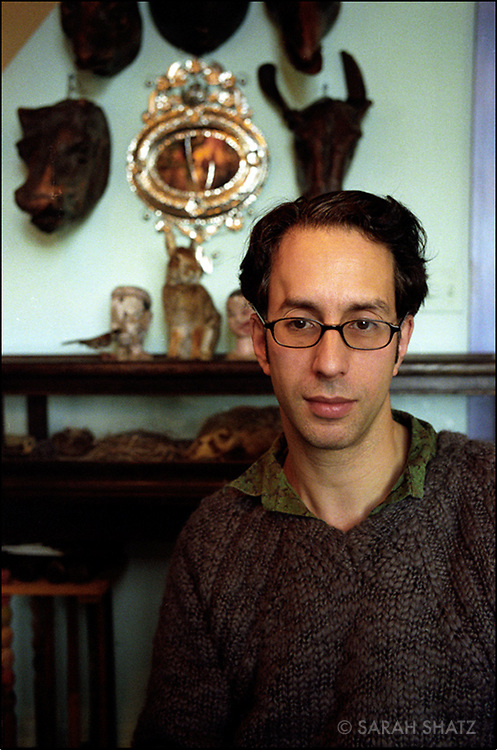 Nicholas Kahn, of the artist team Nicholas Kahn & Richard Selesnick. Kahn & Selesnick have been collaborating for over ten years on panoramic photographs, sculpture and writing that portray the fictional world of the Royal Excavation Corps in 1930's England.