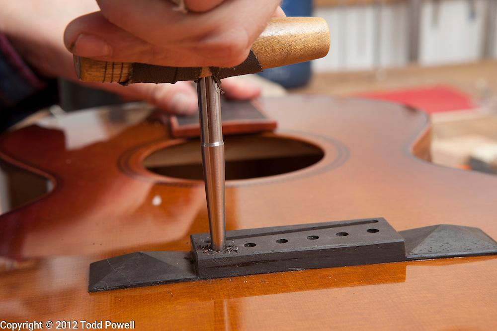 Bevan Frost, Luthier of Big Hollow Guitars