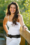 Senior photos of Daniela Diaz, River Ridge Class of 2011, by Mike Carlson Photography