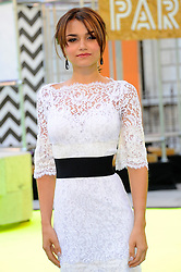 Samantha Barks attends the preview party for The Royal Academy of Arts Summer Exhibition 2013 at Royal Academy of Arts on June 5, 2013 in London, England. Photo by Chris Joseph / i-Images.