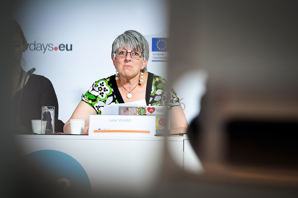 20160615 - Brussels , Belgium - 2016 June 15th - European Development Days - Juvenile justice in Afghanistan - A building block for peace - Julie Ward , Member of the European Parliament - Moderator © European Union