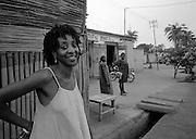 Felas's wife Sandra Izsadore in Togo