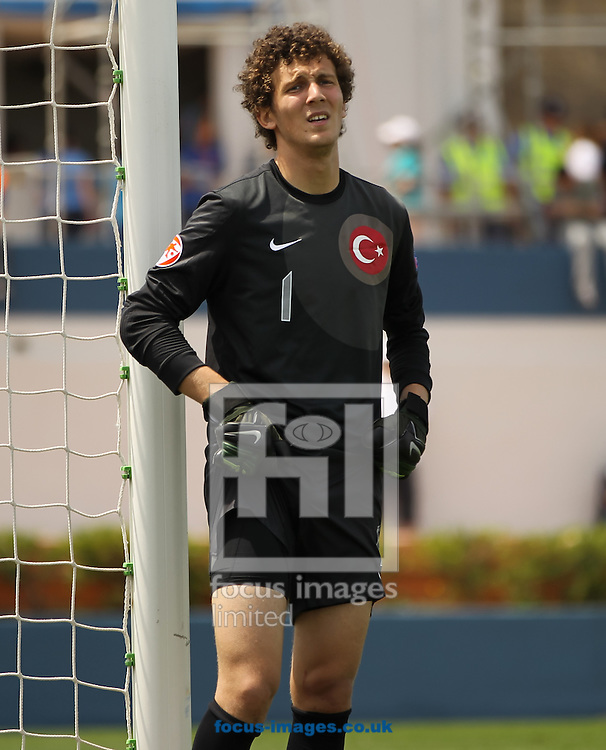 Tarik &Ccedil;etin of Turkey during the 2014 UEFA European Under-17 match at Gozo Stadium, Xewkija<br /> Picture by Tom Smith/Focus Images Ltd 07545141164<br /> 12/05/2014